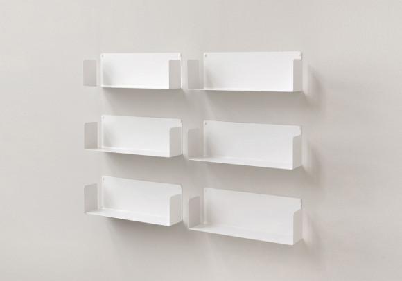 "Mensola modulare ""US"" - 45 cm - Set di 6 - Acciaio"