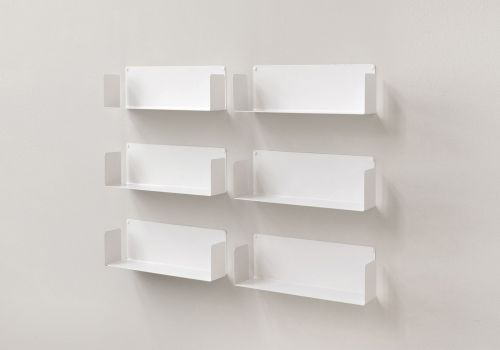 "Set of 6 Wall shelves ""US"""