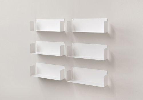 """Floating shelves """"US"""" - Set of 6"""