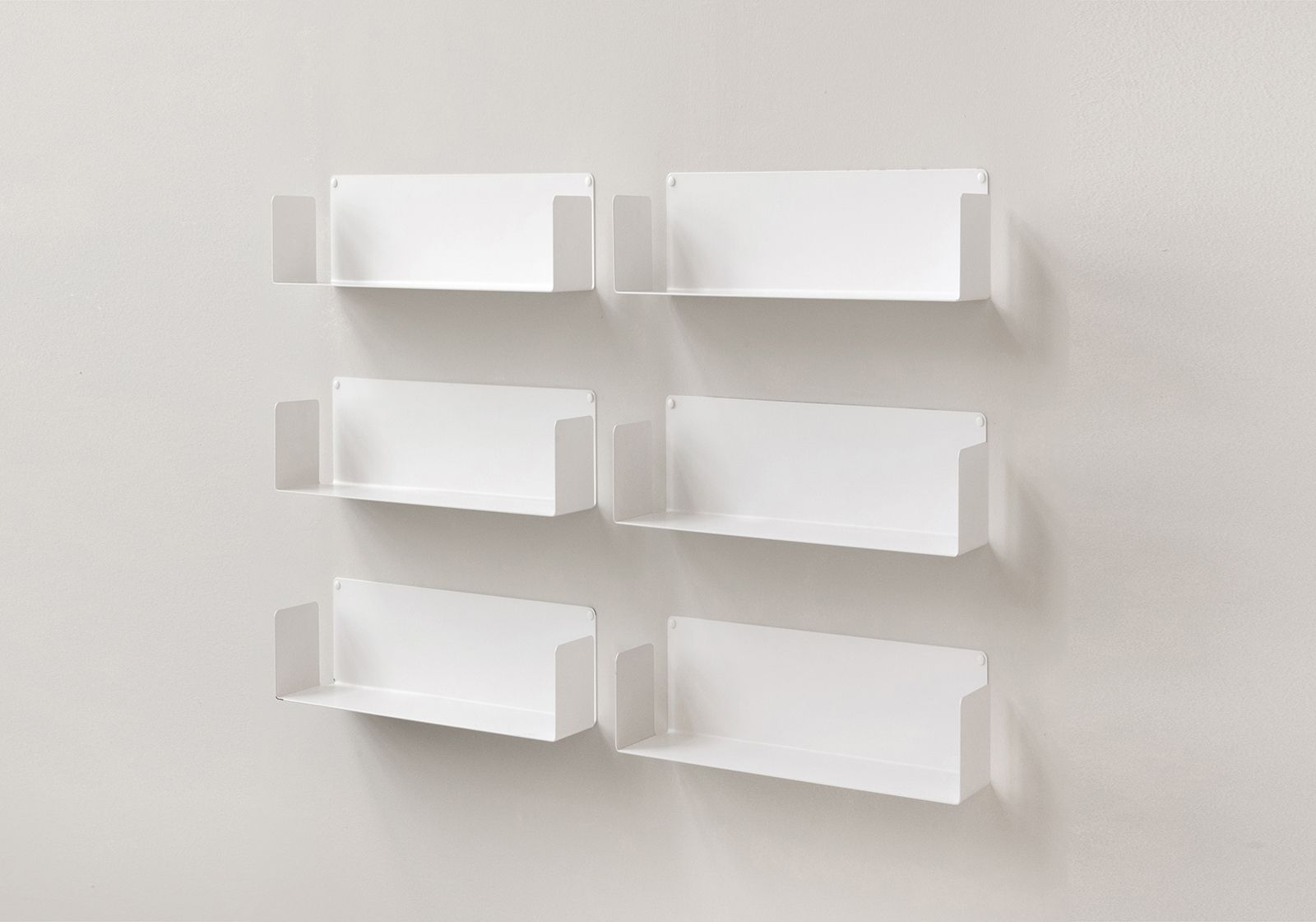 Floating Wall Shelves Us 17 71 Inch Long Set Of 6
