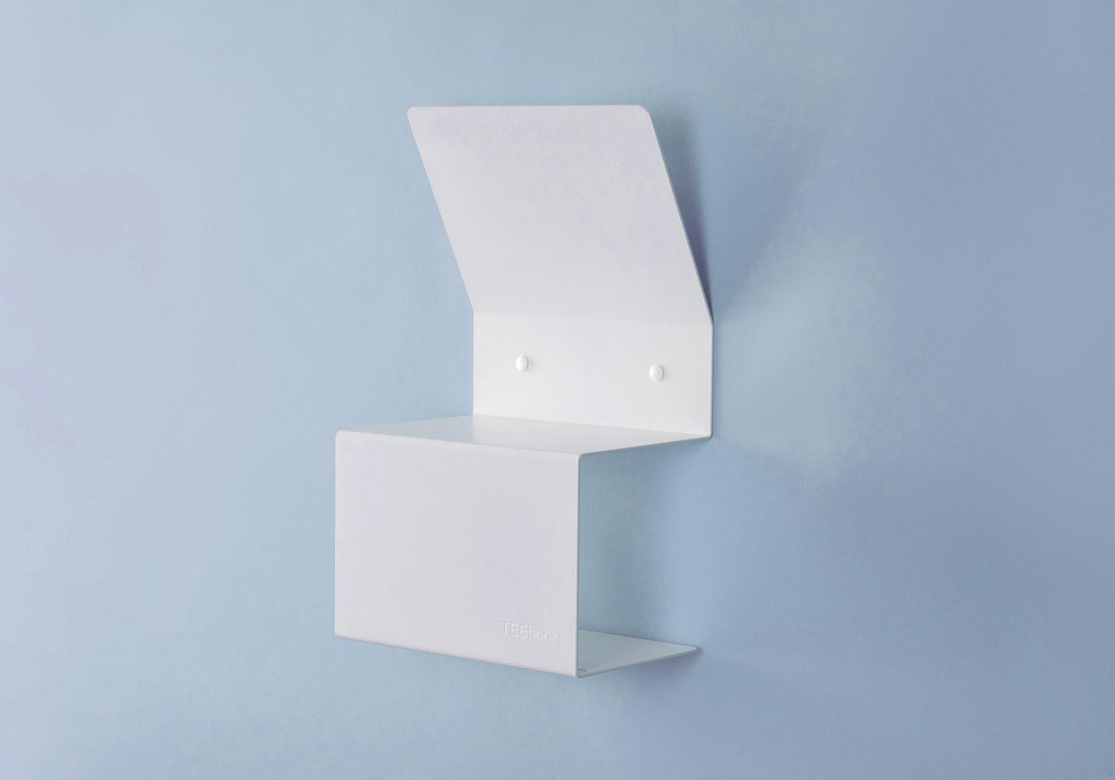 Porta carta igienica teelette acciao bianco 37 5x15x22cm - Dove mettere il porta carta igienica ...