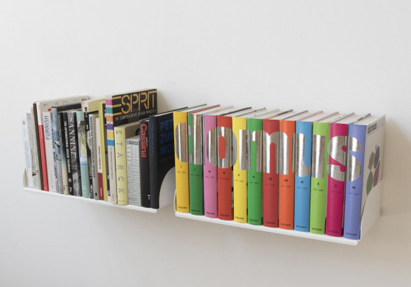 Wall Bookshelf 60 x 25 cm - Set of 2