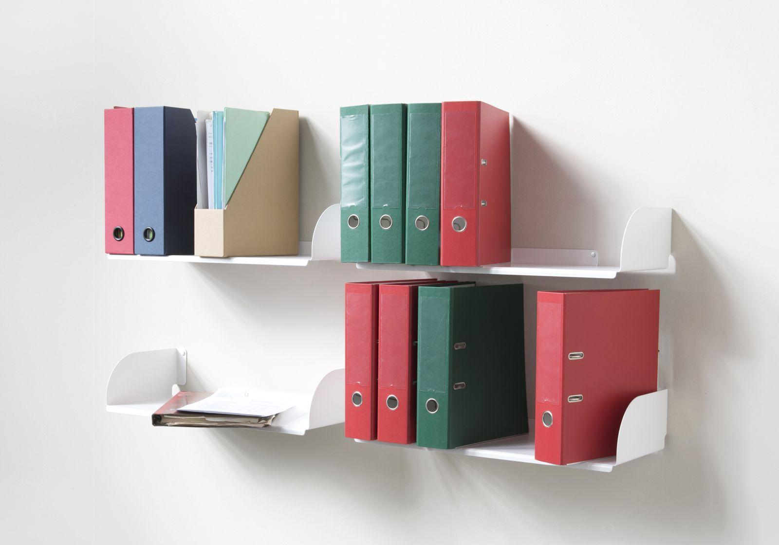 370 wall bookshelf 60 x 25 cm set of 4