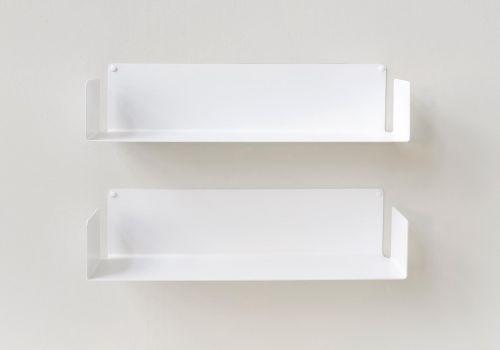 "Wall shelf  ""US"" Detail 2 White"