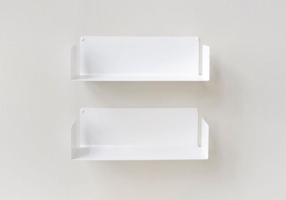 """Mensola modulare """"US"""" - 45 cm - Set di 2 - Acciao"""