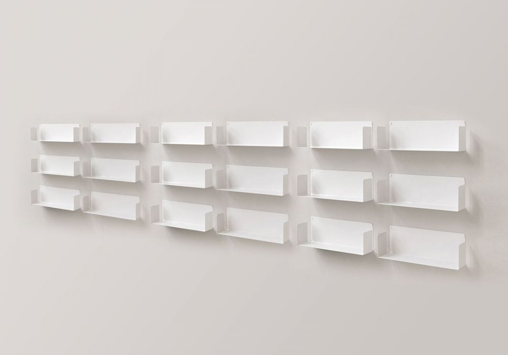 "Floating shelves ""U"" - Set of 12"