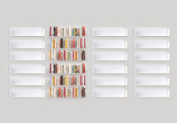 "Floating shelves ""U"" - Set of 18"