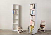 Bibliothèque livre 5 niveaux 30x135x15 cm