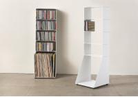 Range cd & vinyle 5 niveaux 30x95x15 cm