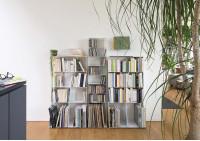 Bibliothèque livre 60 cm avec socle