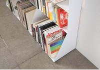 Range cd & vinyles 7 niveaux 30x125x15 cm