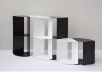 Eckregal DANgolo - Stahl - 25x25x70cm