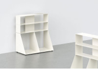 Cd & vinyl storage W60 H65 D32 cm - 3 shelves