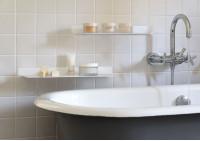 Mensole per bagno TEEline 60 cm - Set di 2 - Acciao
