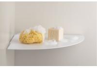 Mensole per bagno TEEgolo 24 cm - Set di 2 - Acciao