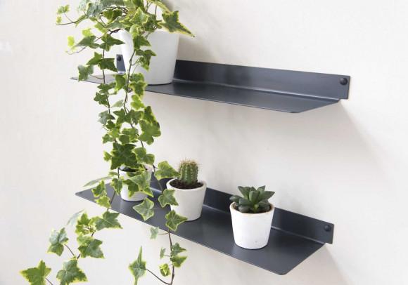 Estante para plantas L60 cm - Juego de 2