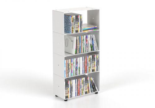 Range cd 4 niveaux 30x60x15 cm