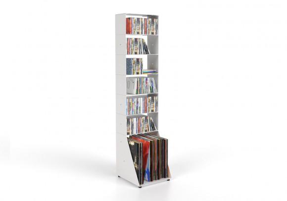 Porta CD & Vinili 7 livelli L30 H125 P32 cm