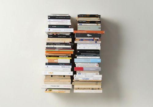 Étagère pour livres - Bibliothèque verticale 60 cm - Lot de 2