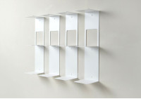 Bookshelf - 60 cm Vertical bookcase - Set of 4