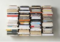 "Mensola per libri ""U"" - 60 cm - Acciao"