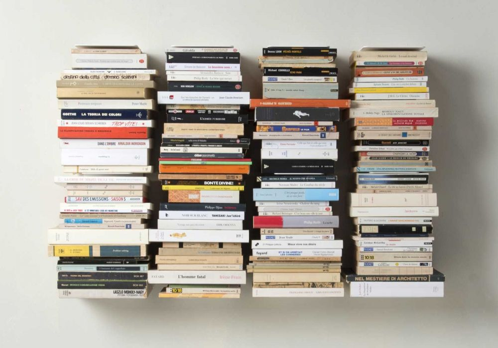 Bookshelf - Vertical bookcase - Set of 4