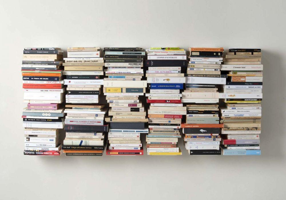 Estante para libros - Biblioteca vertical 60 cm - Juego de 6