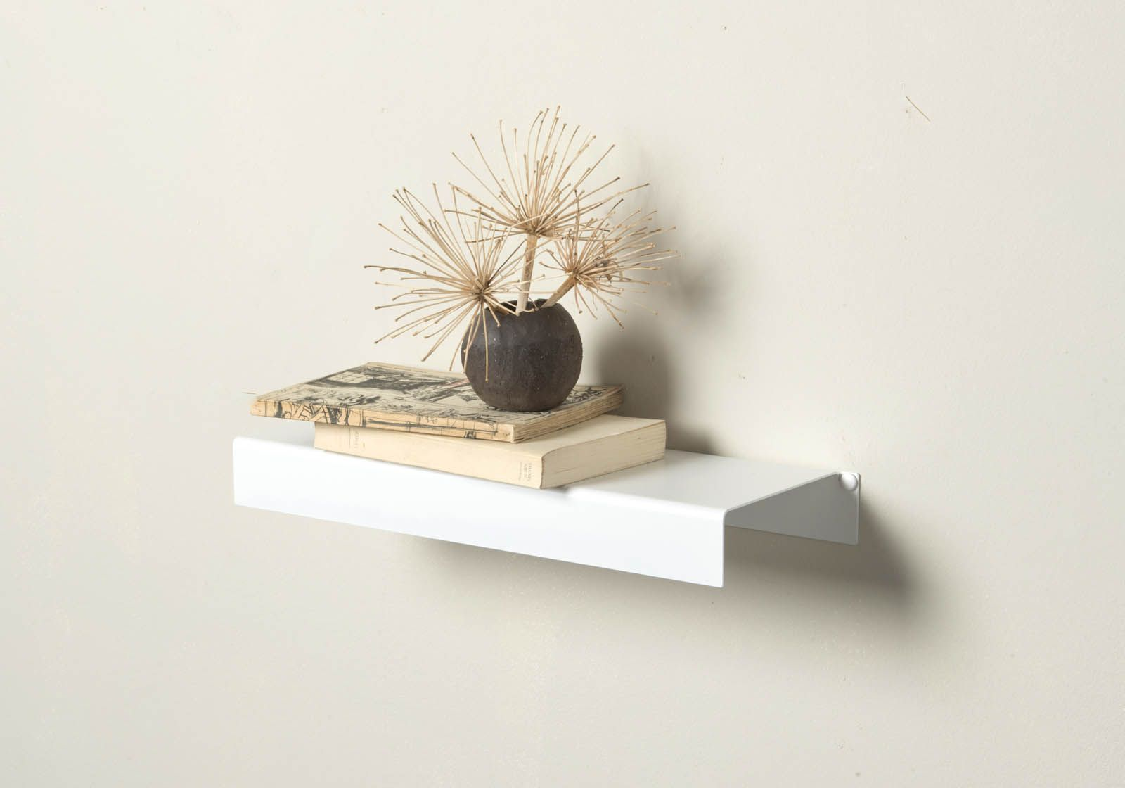 468 wall shelf white metal 1772 inch