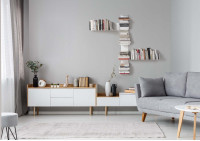 "Asymmetrical Floating shelf ""T"" RIGHT"