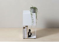 Small Bookcase W60 H50 D15 cm - 2 Shelves