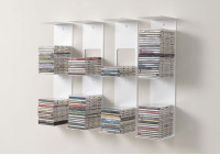 Bookshelves - 60 cm Vertical bookcase - Set of 4