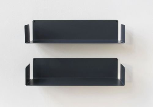 "Mensola modulare ""U"" - 60 cm - Set di 2 - Acciaio"