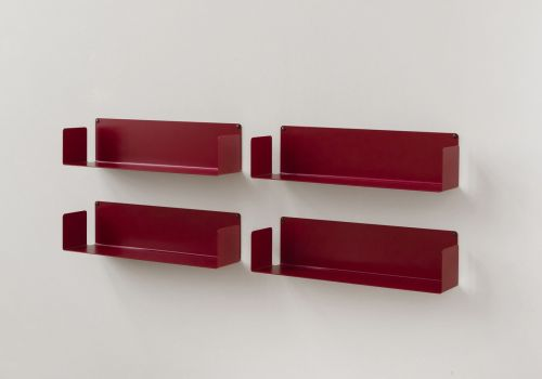 """Estantes de pared """"U"""" - 60 cm - Juego de 4"""