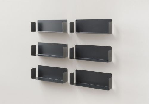 "Floating shelves ""US"" - 45 cm - Set of 6"