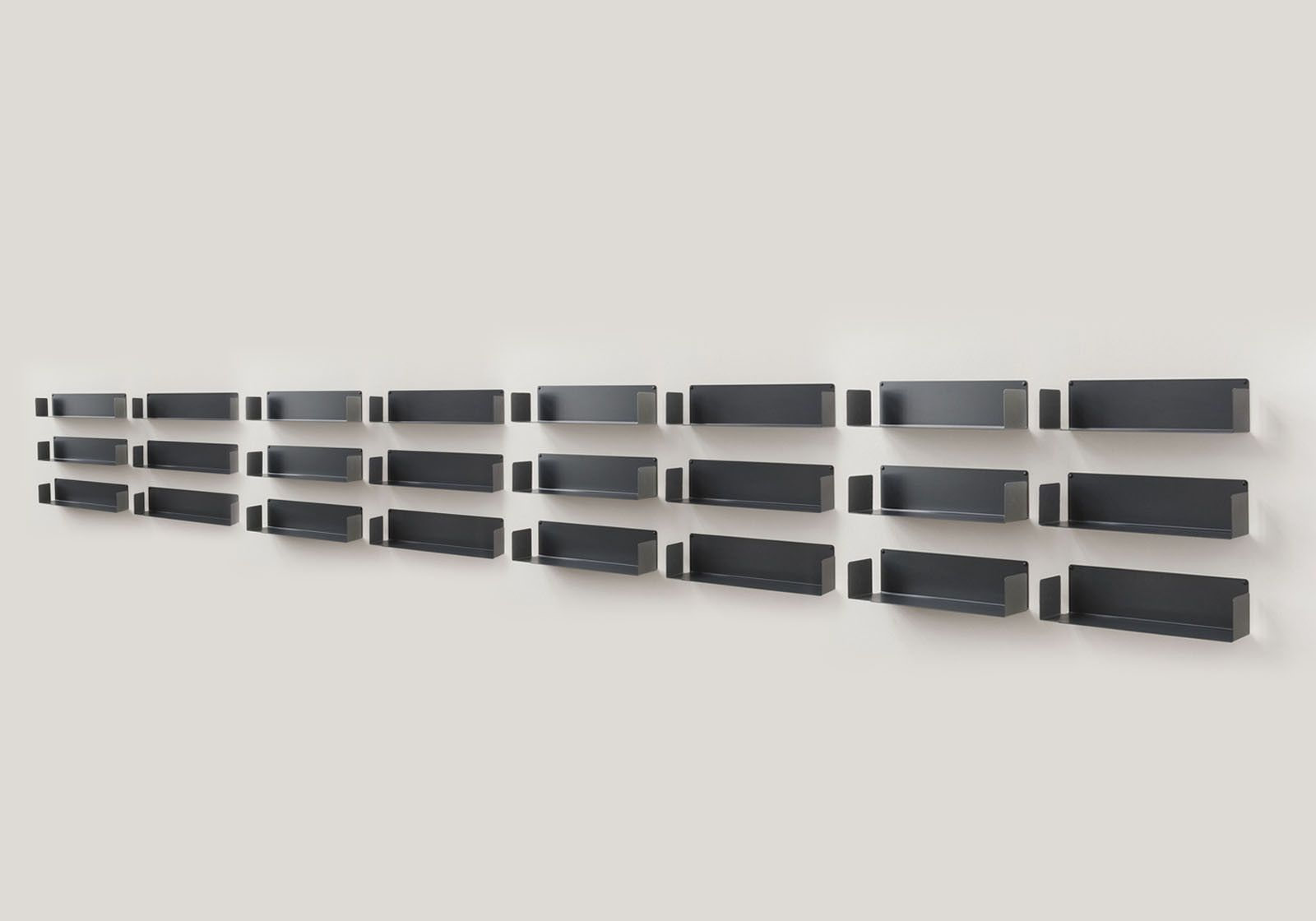 Étagère Murale - 60 x 15 cm - Lot de 18