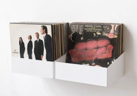 Schallplattenregal
