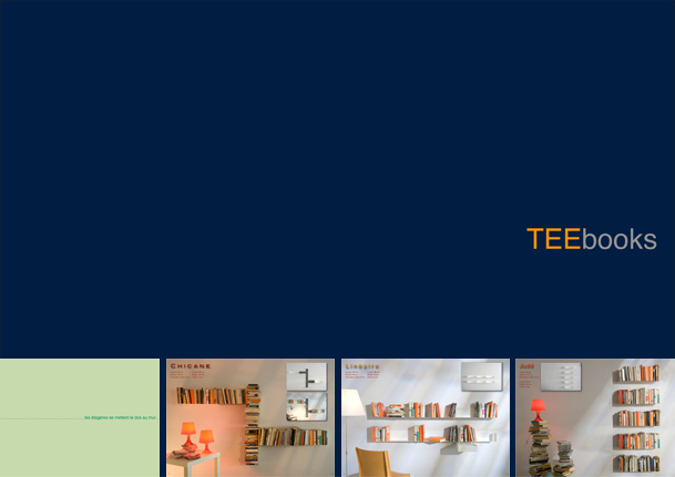 Catalog Bookcases TEEbooks
